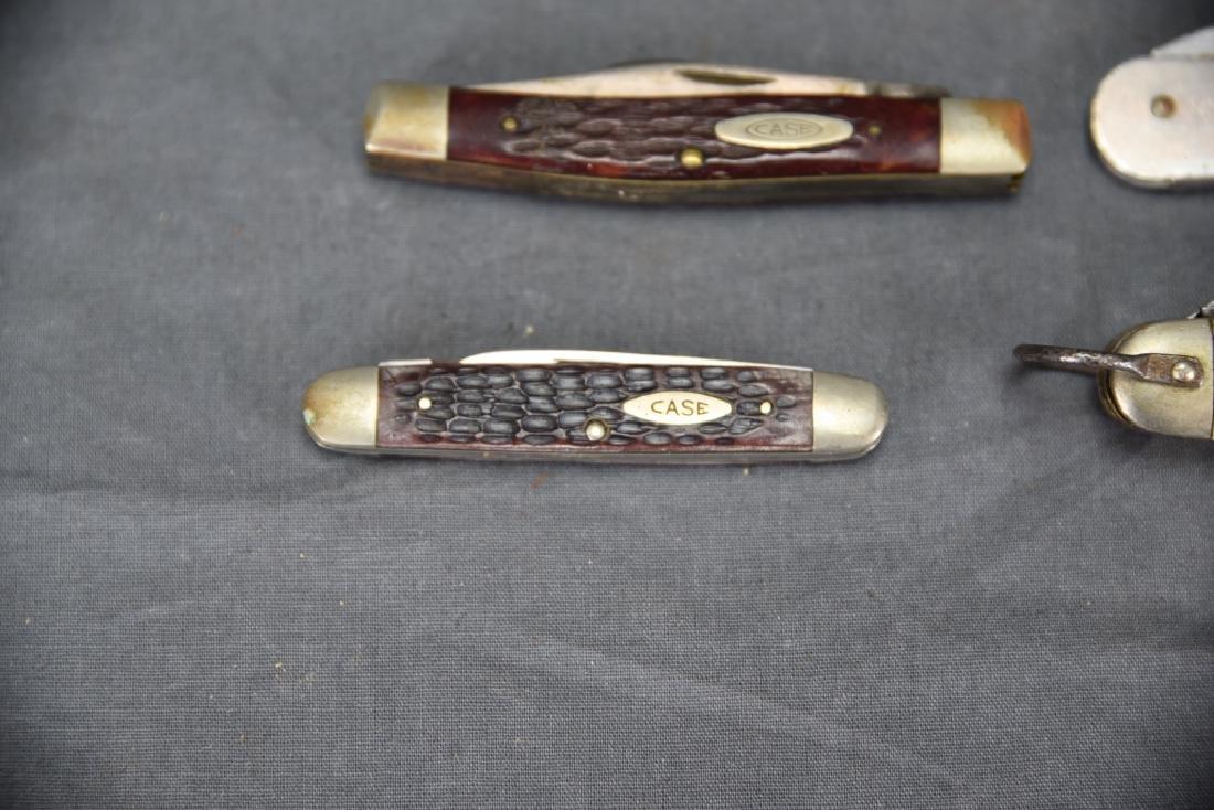 4 Pocket Knives Boy Scout, Girl Scout, 2 Case - 3
