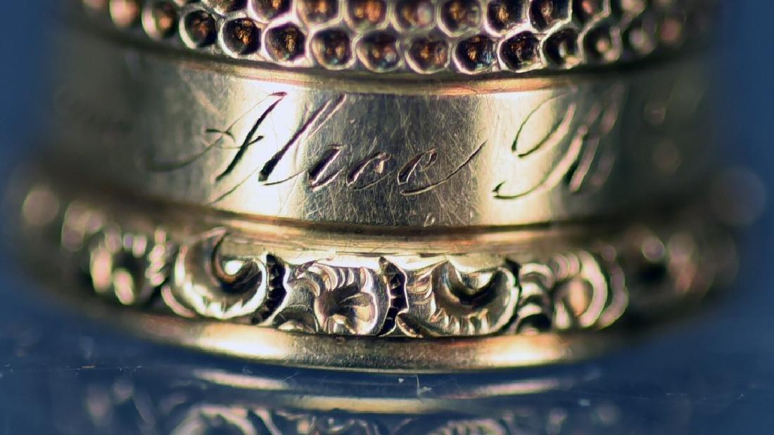 14 K Gold Thimble - 8