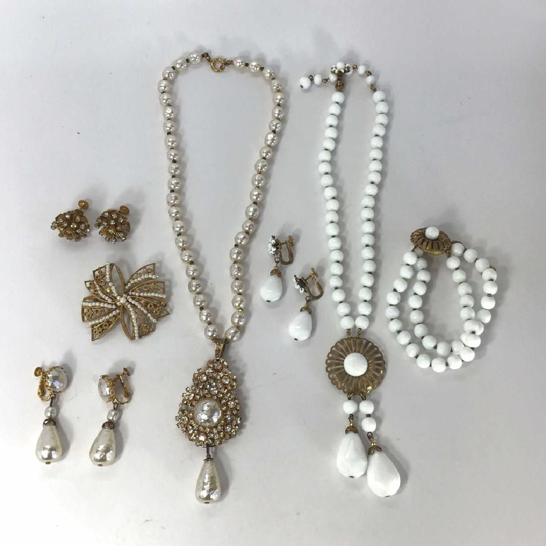 Vintage Miriam Haskell, Necklaces, Earrings...