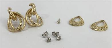 Round Brilliant Cut Diamond Earrings, Pendants...