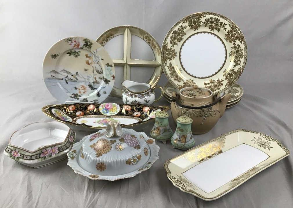 Collection of Early 20th C. Japanese Porcelain For