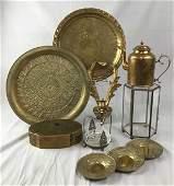 Antique Brass Decorative Items - Skultuna Teapot