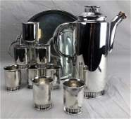Barbour Silver Feinauer Art Deco Cocktail Set