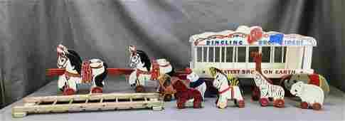 Toy Kraft Dingling Bros. Circus Wagon