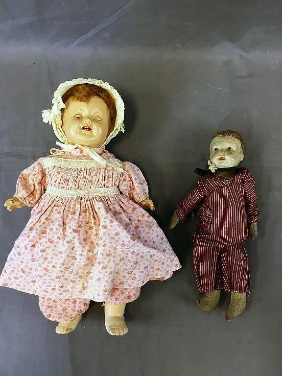 2 Vintage Dolls, Effanbee