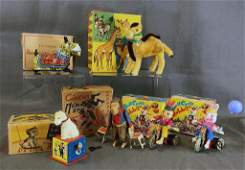 6 Circus Wind Up Toys