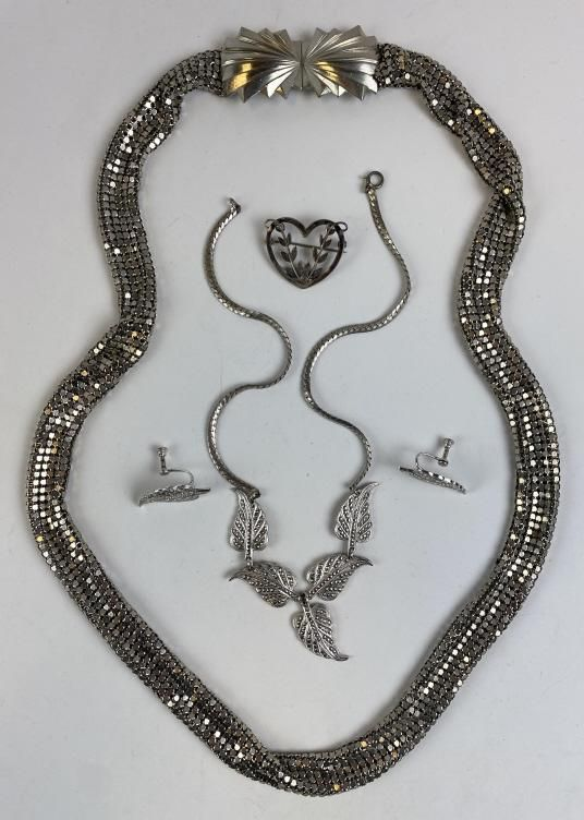 Group of Art Deco Silver Jewelry - Georg Jensen