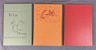 3 Children's Volumes The Limited Editions Club