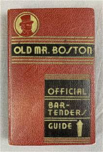 Old Mr Boston Deluxe Official Bartender's Guide