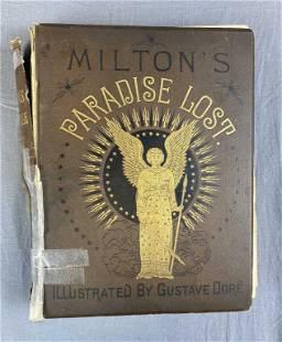 Milton's Paradise Lost Gustave Doré Illustration
