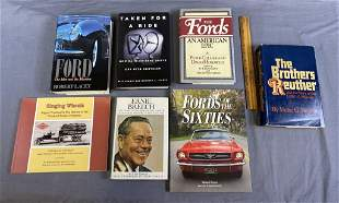 7 Signed Books on Automotive History