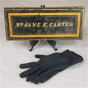 Late 19th C. Tinsmith Document Box