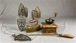 Group of Antique and Vintage Kitchen Items REO