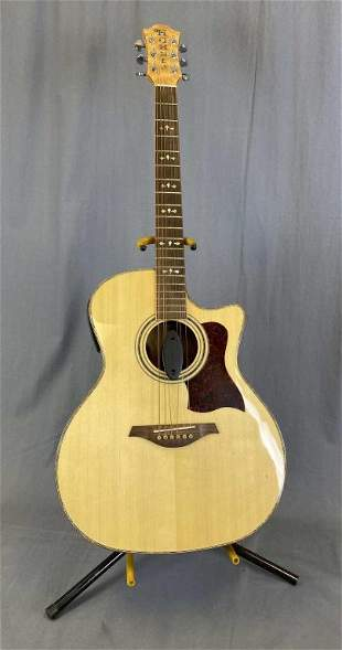 Hohner GM 750S Electric/Acoustic Guitar