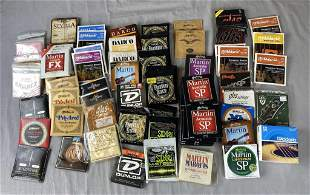 Large Group of Guitar Strings