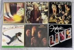 6 Vinyl Albums - ELO, Tom Petty, Jethro Tull...