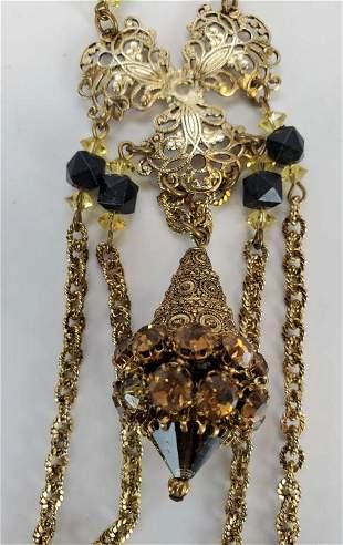 Vintage Hattie Carnegie Stunning Necklace