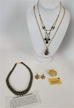 Women's Jewelry Lot Of 5