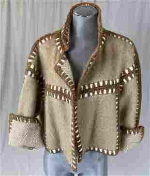 Yves Saint Laurent Wool Tweed Jacket