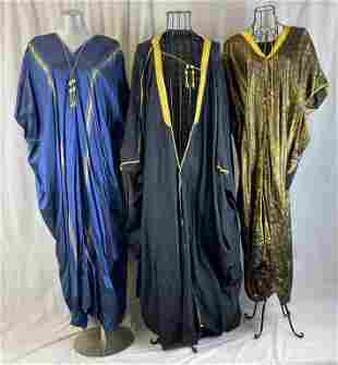 Two Vintage Lebanese Gowns and Wool Coat