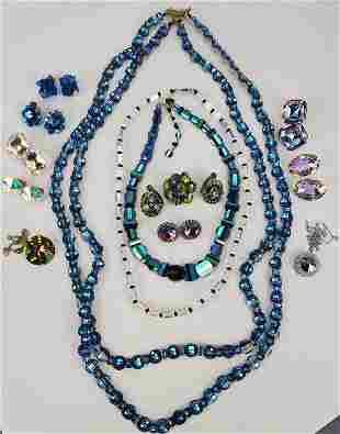 Vintage Rare Swarovski Pagona Crystal Lot