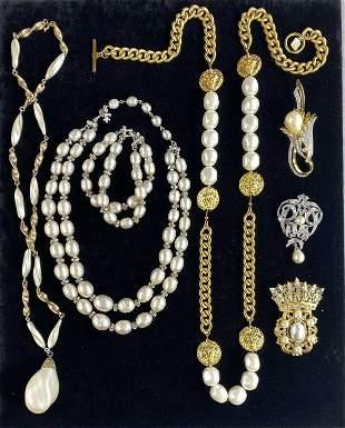 Designer Faux Pearls - Vendome, Anne Klein...