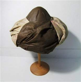 C/1890 Turks Turban Linen Hat