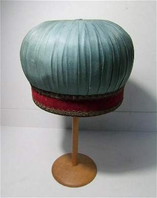 C/1890 Silk and Velvet Priest Hat