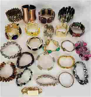 Women's Contemporary Jewelry Lot Bracelets