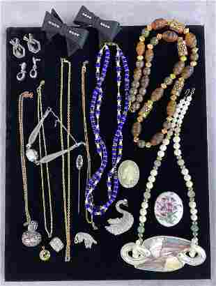 Mixed Estate Lot of Vintage Costume Jewelry