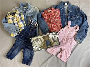 Group of Vintage OshKosh B'Gosh Children's Wear