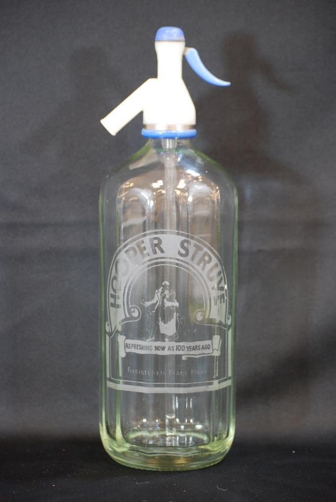 Vintage Hooper Struve Seltzer Bottle