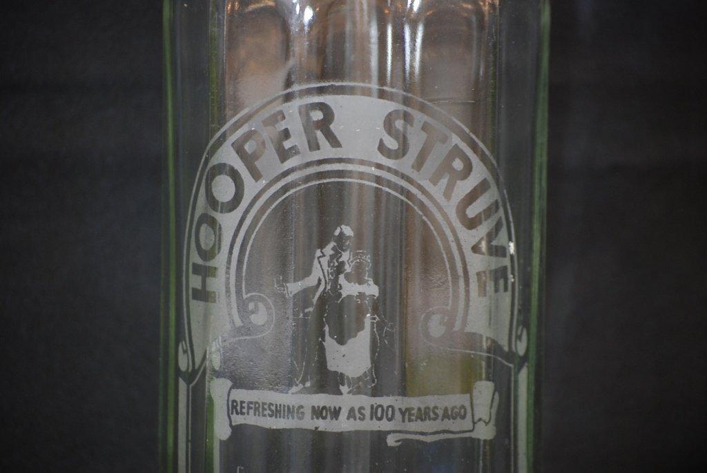 Vintage Hooper Struve Seltzer Bottle - 2