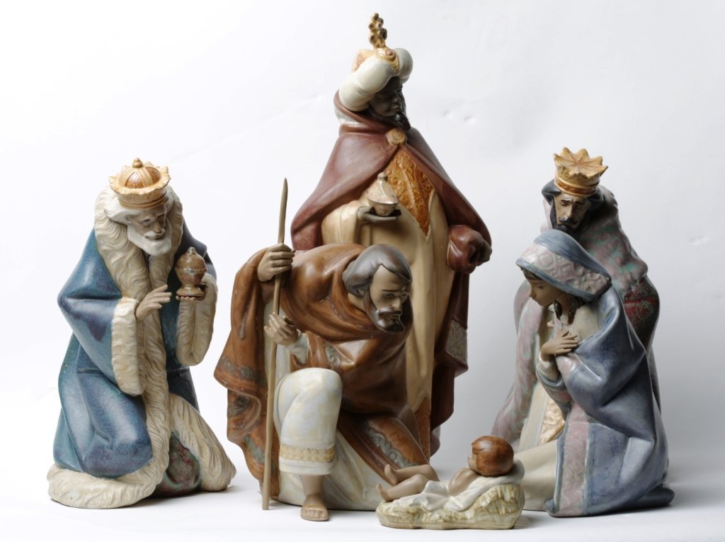 LLADRO 6 PC NATIVITY
