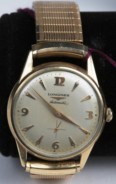 LONGINES MENS AUTOMATIC WRIST WATCH
