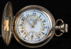ANTIQUE LADIES AMERICAN WALTHAM POCKET WATCH