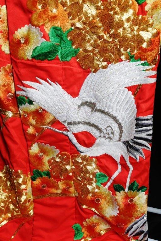 JAPANESE WEDDING KIMONO - 2