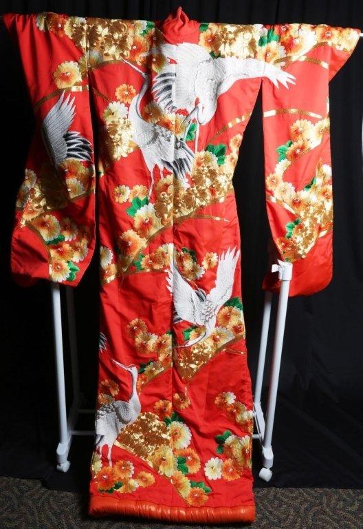 JAPANESE WEDDING KIMONO - 6