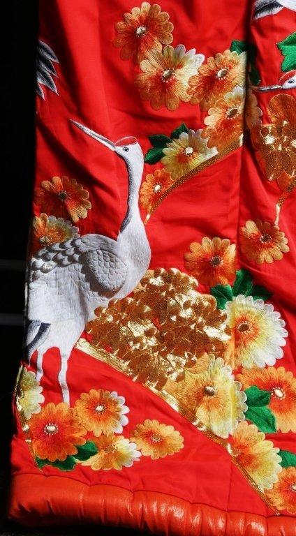 JAPANESE WEDDING KIMONO - 8
