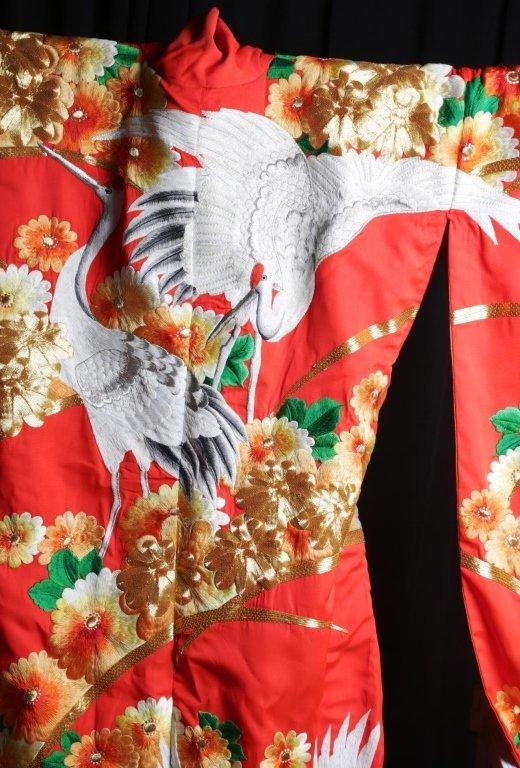JAPANESE WEDDING KIMONO - 9