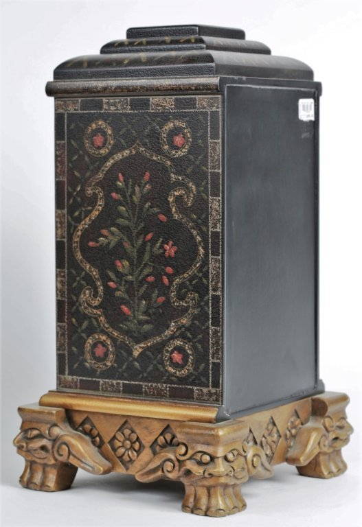PAIR OF CHINESE PAINTED BOXES - 5