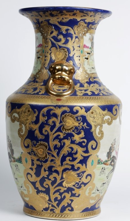 "18.25""TALL CHINESE PORCELAIN URN - 4"