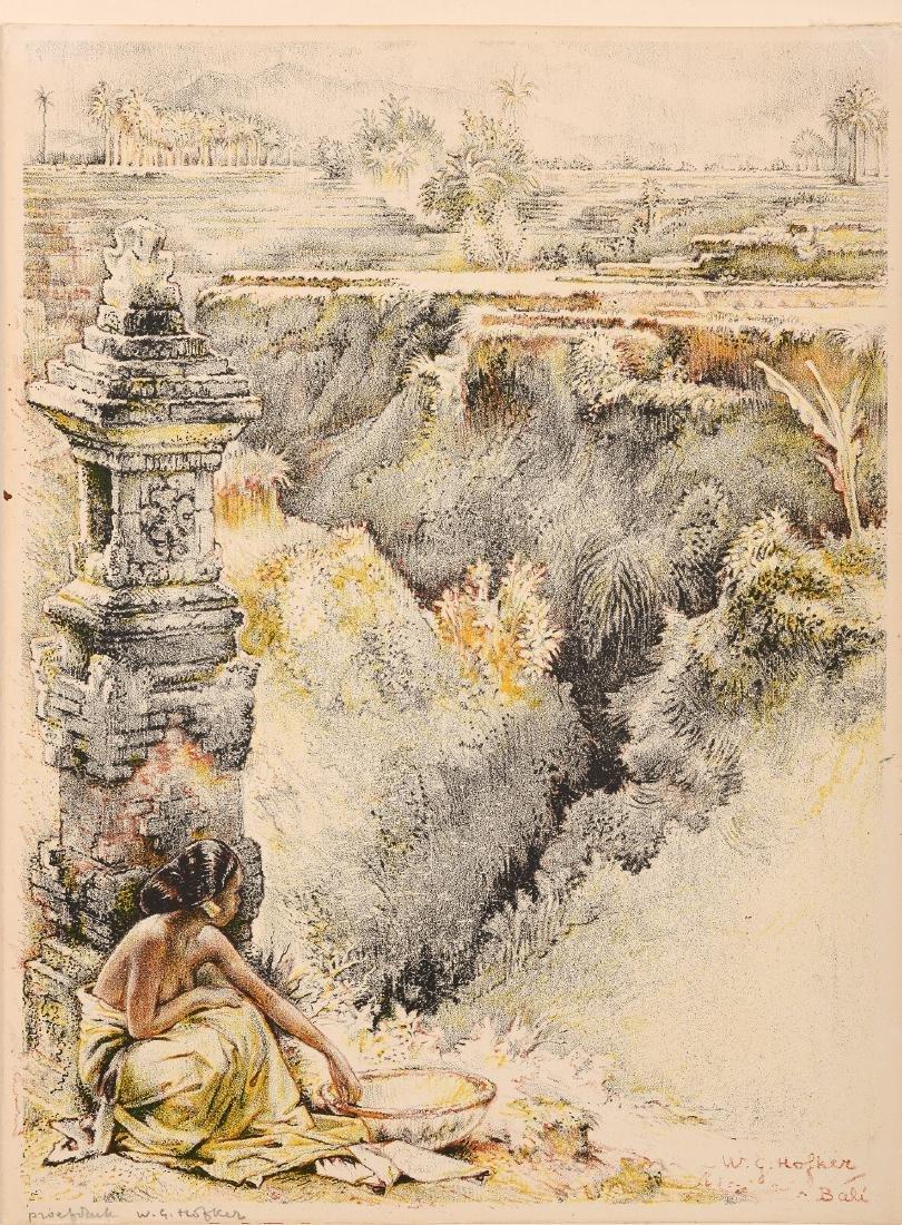 Willem Gerard Hofker (1902-1981) 'View from Abangan,