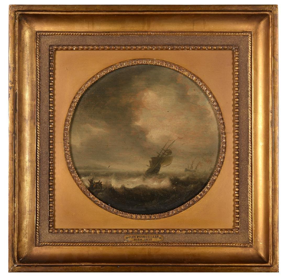 Jan Porcellis (1584-1632) toegeschreven aan,