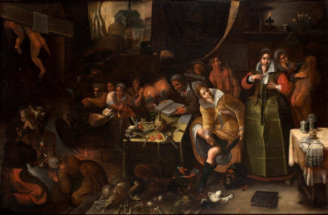 Hieronymus II Francken (1578-1623) toegeschreven aan,