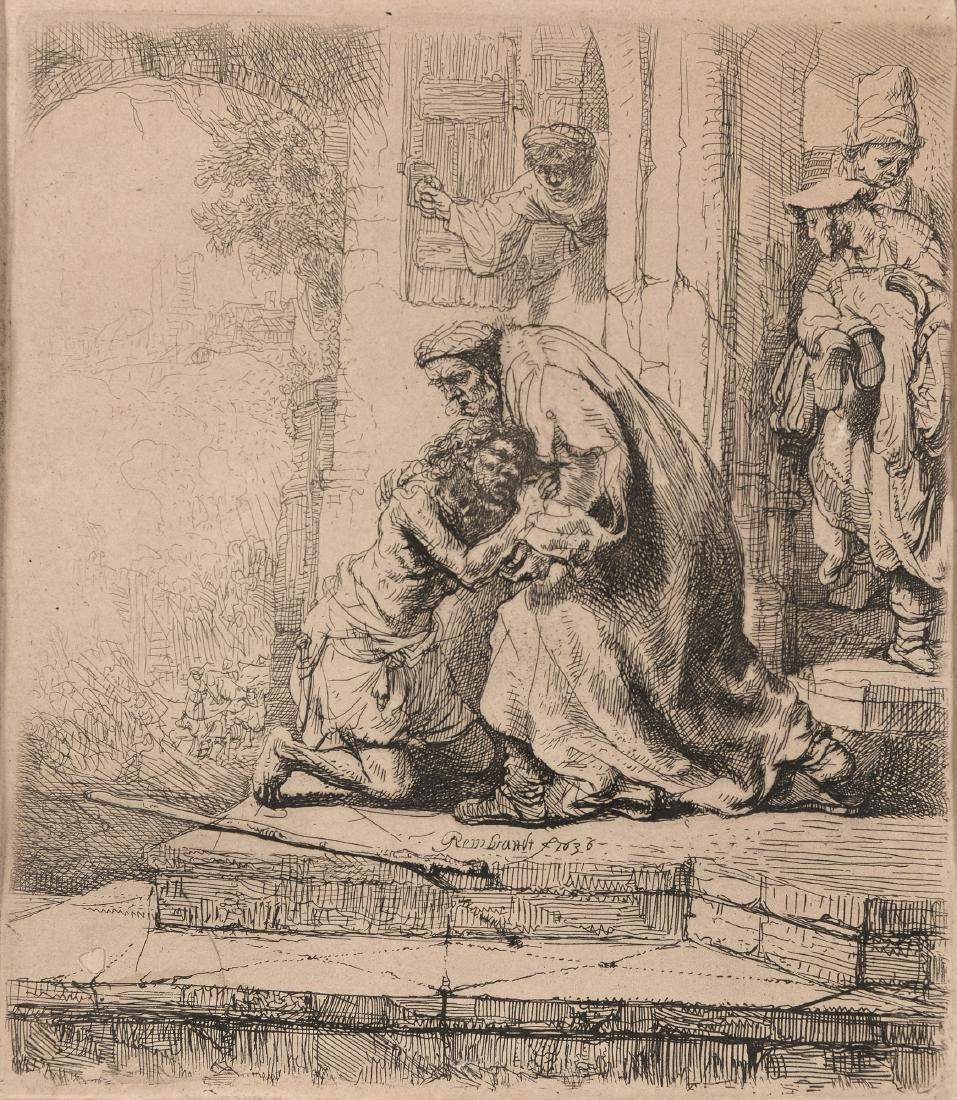 Rembrandt Harmenszoon van Rijn (1606-1669) 'De verloren