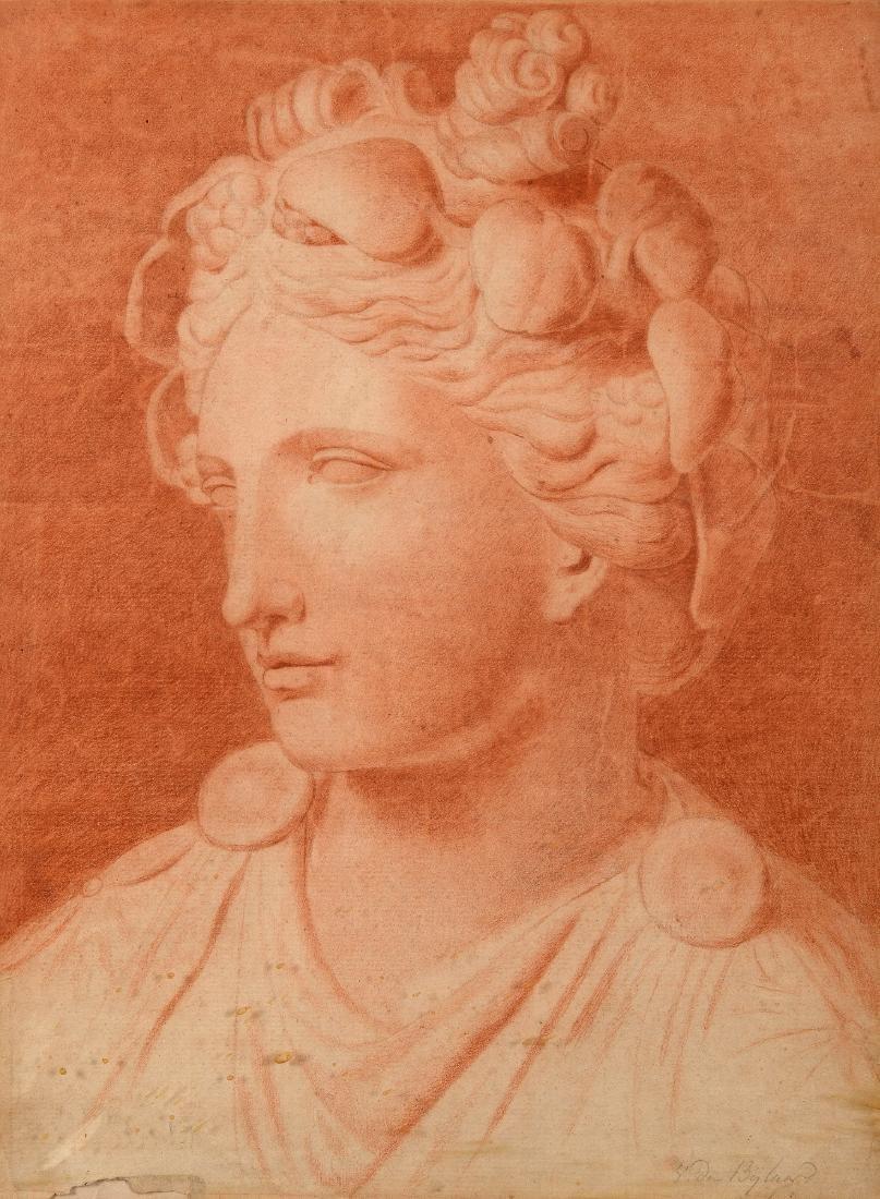 Alfred Edouard Agenor van Bylandt (1829-1890) 'Buste