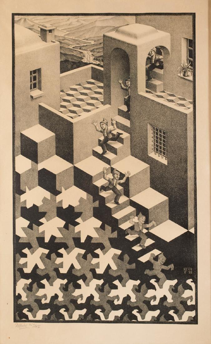 Maurits Cornelis Escher (1898-1972) 'Kringloop',