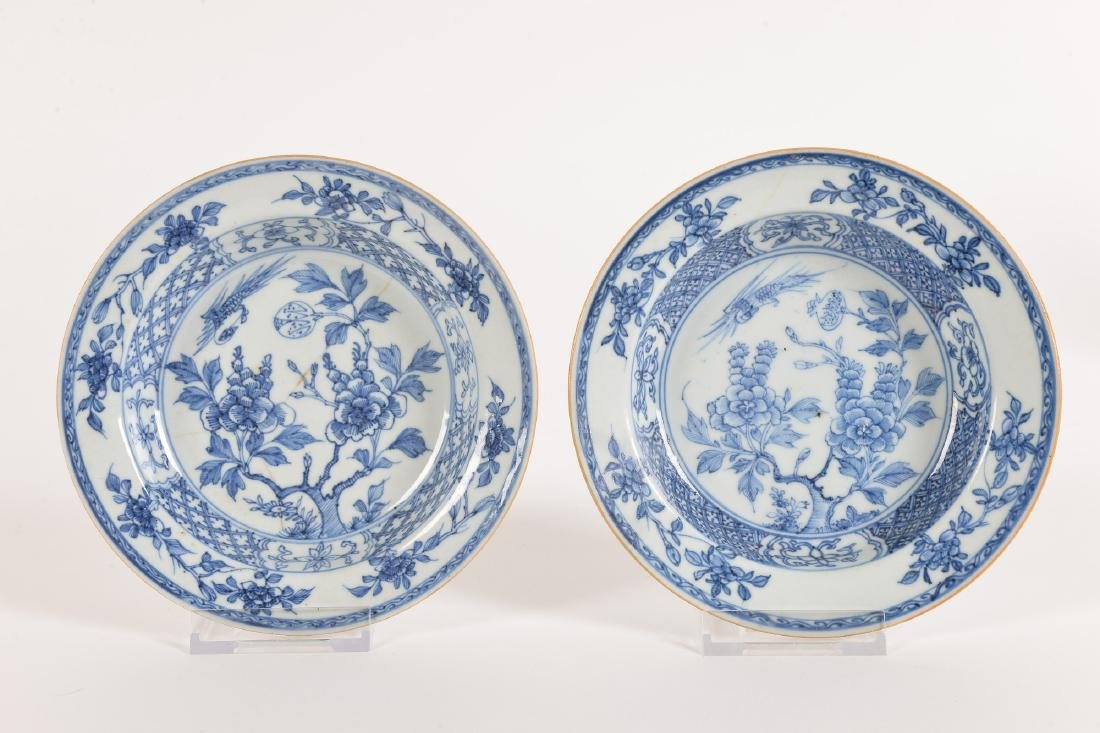 A lot with ca. 42 diverse blue and white porcelain - 10