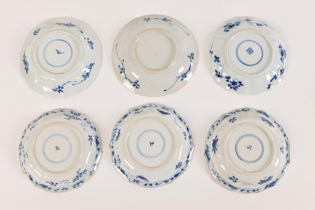 A lot with ca. 42 diverse blue and white porcelain - 4